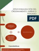 LA CONSTITUCIONALIZACIÓN DEL ORDENAMIENTO JURÍDICO PERUANO.pptx