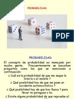 Probabilidad y Distribución Normal