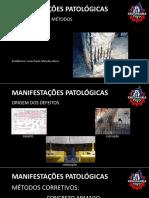Manifestações Patológicas - Aço & Concreto