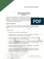 Instructivo, Términos y Condiciones Programa EXPLORA CCYK