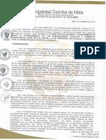 Directiva de Otorgamiento de Subvenciones Sociales