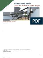 USTA PM Informe III Plan Maestro 01-03-207