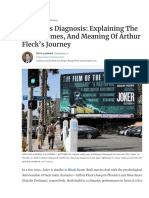 'Joker' as Diagnosis_ Explaining the End, Themes, And Meaning of Arthur Fleck's Journey