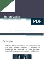 Escroto Agudo - cirurgia urológica