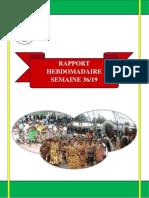 Rapport Hebdomadaire Semaine 36-19-1