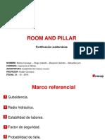 Room and Pillar Estabilidad de macizo