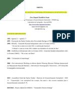 Ementa do curso sobre Indicadores aplicados a Gestao Costeira Integrada e Sustentável