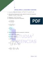 Examen Polinomio Ecuaciones 3 ESO