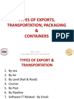 5. Types of Transport Pkg & Containers.ppsx