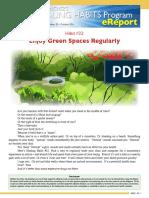 00224 HealingHabit32 Enjoy Green Spaces Regularly