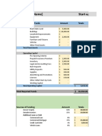 Financial Projections Sample