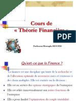 théorie financière