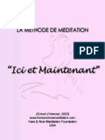 [eBook-fr] Methode de Meditation Ici Et Maintenant