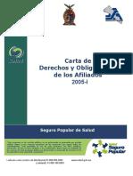 Carta de Derechos y Obligaciones-2005-i Seguro Popular