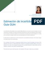 Paper español evaluacion incertidumbre