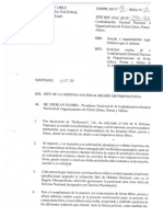 Carta Para Salvoconducto Feriante