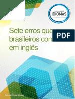 eBook Sete Erros Que Brasileiros Cometem Em Ingles - PDF