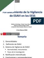 Vigilancia de ESAVIS en EESS