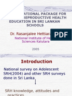 New SRH Eduational Package