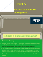 (techniques of communication management).ppt