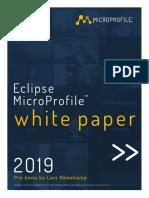 MicroProfile Whitepaper 2019 Final