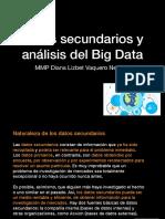 Datos secundarios y análisis del Big Data