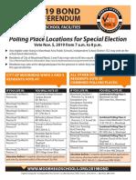 Polling Place Handout 100219