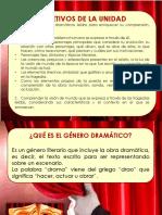 GENÉRO DRAMÁTICO