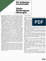 El Folletín Rescatado. Entrevista a Manuel Puig