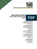 Artigo_desigualdades Socioespaciais Urbanas
