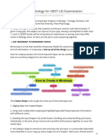 Steps to Master Biology for NEET-UG Examination - NEET 2020 - ZetaBiology
