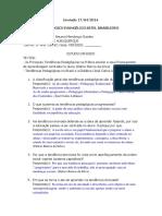 ESTUDO DIRIGIDO - DIDÁTICA