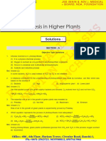 Photosynthesis in Higher Plants