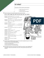 Solutions Pre-Intermediate Unit 5 extra practice
