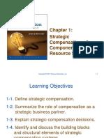 PowerPoint Chapter 1 -- Strategic Compensation 9e