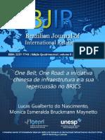Nova Rota Da Seda e Os BRICs