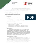 Finanazas Inter DERIVADOS