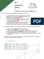 Desarrollo de Taller 1 Matematica