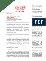 Artículo, Revista Sociedad de Ingenieros Uniquindio