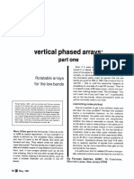 HF Vertical Phased Arrays [Gehrke 1983]