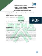Heiner Manuel Ortega Bello Actividad 3 (Informe Caso de Estudio)