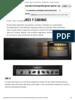 Komplete _ Guitarra _ Guitar Rig 5 Pro _ Amplificadores Y Cabinas _ Productos
