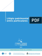 Litigio Patrimonial POR AUDIENCIAS