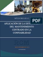Aplicación-RCM-Fundición