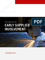 The Importance of Early Supplier Involvement eBook
