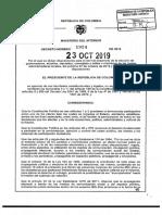 Decreto 1924 de 2019