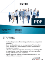 Chapter 8 Staffing