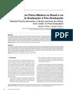 A Formação Em Física Médica No Brasil