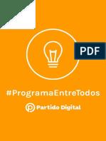 Programa de gobierno del Partido Digital