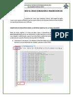 SESION 4 - Construyendo El CRUD - Inserción de Registros